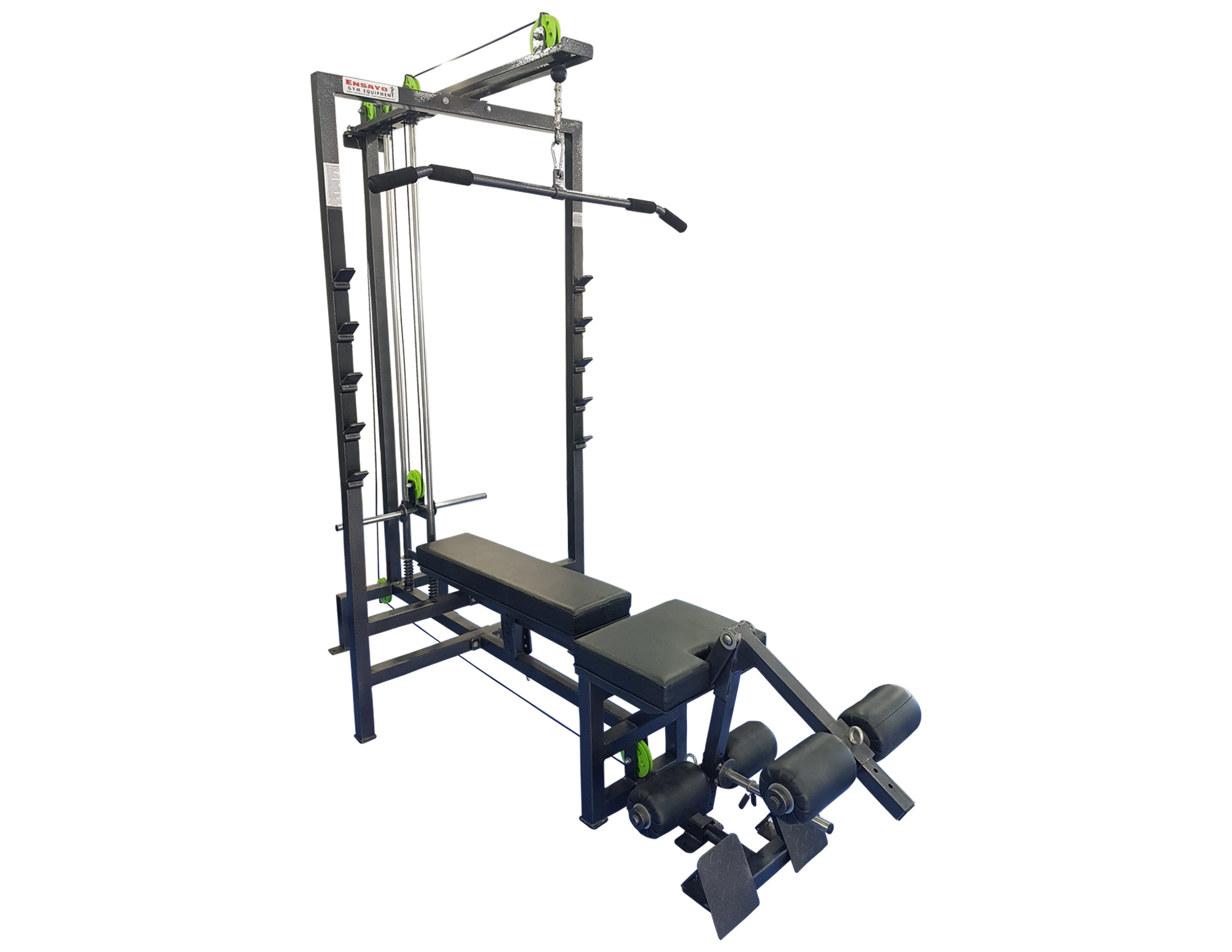 Multi use home gym plate load b u ensayo gym equipment inc